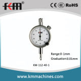0-1mm 0.01mm Small Dial Indicator with 40mm Dial