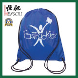 Polyester Drawstring Sports Backpack Gym Bag with Custom Printing
