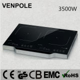 Venpole Double Induction Hob with Handle Kitchen Appliance