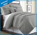 6 Piece Colorblock Patchwork Style Polyester Comforter Set