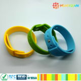HUAYUAN! ! NEW! ! RFID W28 smart silicone wristband for cashless payment