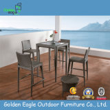 PE Rattan Outdoor Bar Table and Chairs Set
