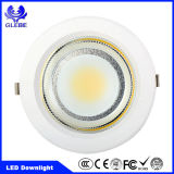 Die Cast Aluminum Round Recessed LED Downlight COB SMD Ce/RoHS
