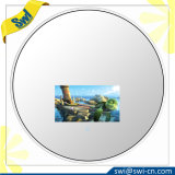 """27"""" Round Vanishing Mirror Television with 10.6"""" LED Screen"""
