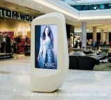 Luxury Outdoor Corian Solid Surface Advertising Banner LED Display Stand