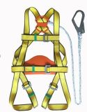 Full Body Safety Harness with 4 Adjustable Point & Safety Rope