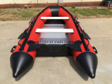 PVC Hull Material Inflatable Sport Fishing Boat (360cm)