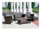 Outdoor Furniture PE Rattan Aluminum Dining Sets