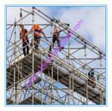 Safe SGS Approved Hot DIP Galvanized Kwikstage Scaffolding for Construction