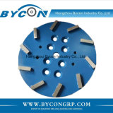 "10"" 10T stone diamond grinding wheel concrete grinding head"