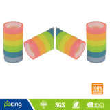 Various Color Plastic Core BOPP Stationery Gem Tape
