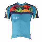 Men's Cycling Jerseys Breathable Row of Han Sport Outdoor Short Sleeve Jersey