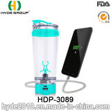 Popular BPA Free Plastic Electric Protein Shaker Bottle, Customized Vortex Shaker Bottle (HDP-3089)