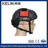 Police Black Python Pattern Bulletproof Safety Helmet