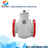 Stainless Steel API6d Flange Trunnion Ball Valve