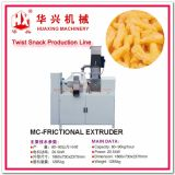 Twist Snack Production Line (Corn Snack Extruder Extrusion System Corn Snack/Crack 80-120Kg/h)