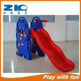 Kindergarten Children Indoor Playground with Plastic Slide