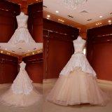 Champagne Lace Ballgown Bridal Dress Wedding Gown Z11132
