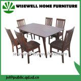 7PC Oak Wood Modern Furniture Dining Table Furniture Set