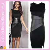 Sexy Women Bodycon Sleeveless Work Party Evening Mini Dress