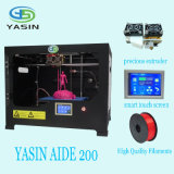 Desktop Large Fdm 3D Printer, 3D Printer Machine with Printing Size 220*200*200mm