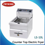 Ls-10L Counter Top Electric Fryer with Good Quality