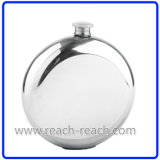 Round Shape Stainless Steel Hip Flask (R-HF005)