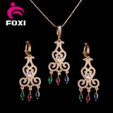 Vintage Style Fashion Handmade 18k Gold Plated Jewelry Set for Women