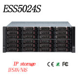 24 Hdds Network Storage Video Recorder with 19 Feet Standard Rack-Mounted {Ess5024s (-R) }
