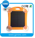 Waterproof Solar Charger with LED Lieght for Mobile Phone