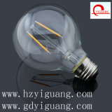 Warm White Filament LED Light G80
