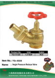 "Pressure Reduce Angle Hydrant Valve: 1.5""Bsp	-D25"