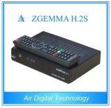 Top Sale Zgemma H. 2s Dual Core Enigma2 Linux OS DVB-2xs2
