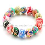 Wholesale Polymer Clay Beads Bracelet, Ceramic Bracelet