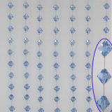Window Curtain Crystal Bead Traverse Curtain