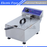 Commercial Stainless Steel Deep Fryer W Single Basket Bench Top