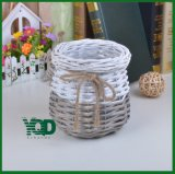Fashion and Rural Style Wicker Flower Vase