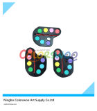 7 Color 3.0cm Classic Water Color Cake with Brush for Painting and Drawing