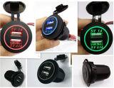 Car Cigarette Lighter Socket DC 12V Dual USB Charger Power Adapter Outlet Car USB Adapter