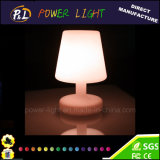 Color Changing Rechargeable PE Plastic LED Table Lamp
