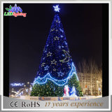 LED Outdoor PVC Christmas Giant Tree Waterproof Red Landscape Light