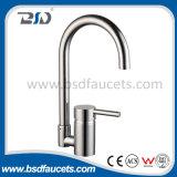Brass Spout Brass Body Zinc Handle Sink Mixer