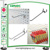 Price Tag Metal Hanging Display Hook for Pegboard