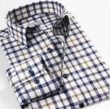 Mens Cotton Yarn Dyed Checks Long Sleeve Shirt