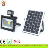 High Quality Outdoor Solar LED Flood Light with Motion Sensor 10 Watt