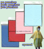 PEVA Colourful and Disposable Poncho (LY-PR-001)
