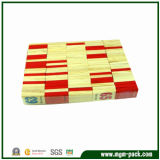 Hot Selling Double Colors Wooden Domino with Numbers