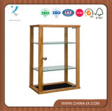 Counter-Top Display Case with Adjustable Shelf and Locking Door