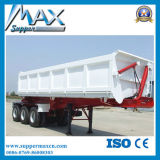 60 Ton 3axles Tipper Trailer Tractor Dump Trailer for Sale