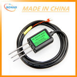 Quick Test Soil Moisture and Temperature Sensor with 3 Probe Head